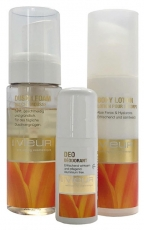 BODY CARE SET (Shower Foam, Body Lotion, Deo)