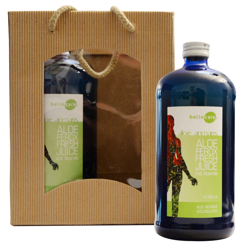 Aloe Ferox Frischsaft (Duo Pack / Monatskur)